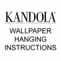 INSTRUCTIONS: HANGING WALLPAPER