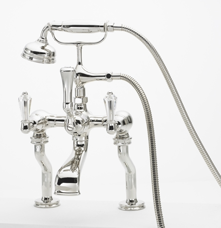 KN1820L MOUNTED BATH SHOWER MIXER CRYSTAL LEVER HANDLE